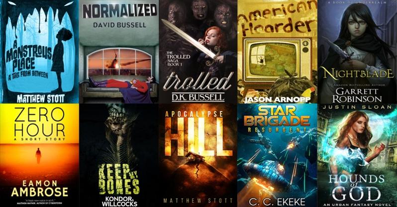 Genre Reader FB ad mailing list sign up 10 books.6