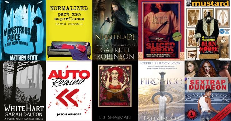 Genre Reader FB ad mailing list sign up 10 books.2